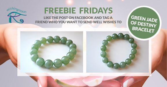 Freebie Fridays: Green Jade of Destiny Bracelet.
