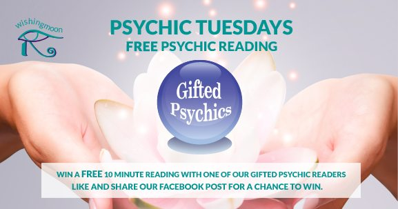 Psychic Tuesdays: WIN a FREE Psychic Reading | Wishing Moon