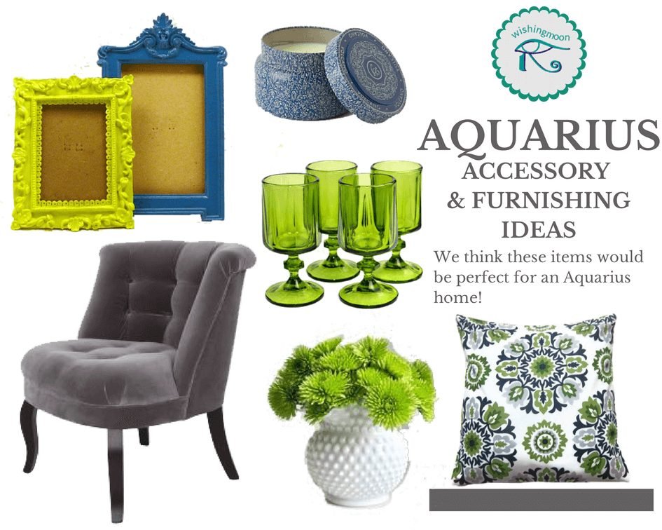 Aquarius home accessories