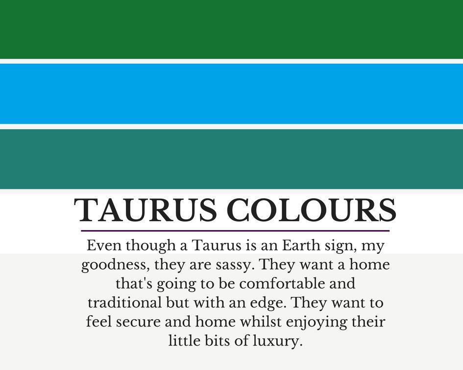Taurus colours
