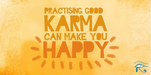 pratising karma image