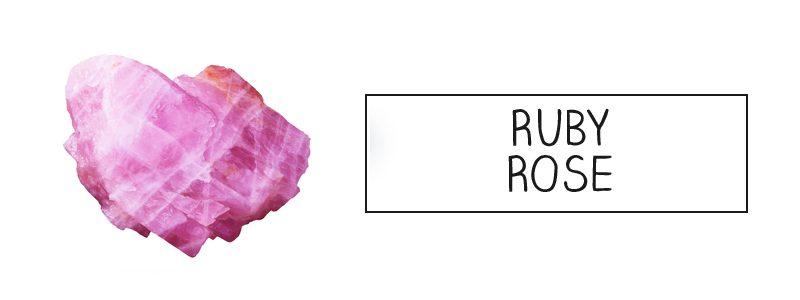 Rose rubis