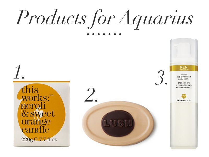 products for aquarius