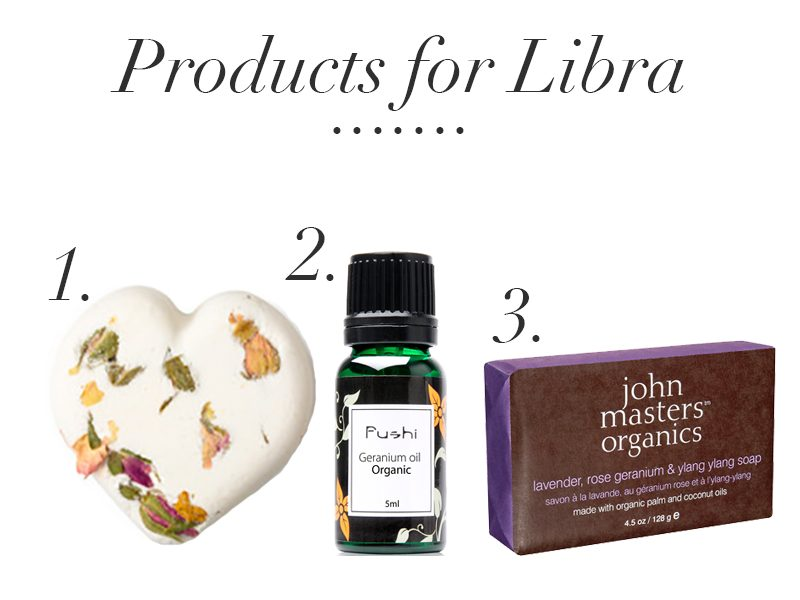 products for libra