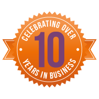 Wishing Moon badges_Celebrating over 10 years in business