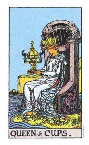 The Original Rider Waite Tarot Queen of Cups