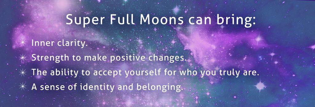 super full moons can bring