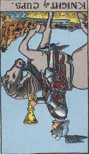 Rider-Waite Tarot Card Deck- Knight of Cups