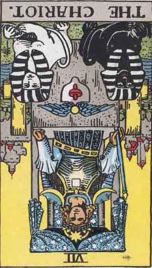 Rider-Waite Tarot Card Deck- The Chariot