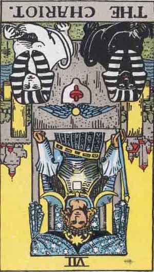 Rider-Waite Tarot Card Deck- The Chariot