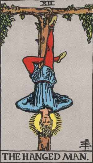 Rider-Waite Tarot Card Deck- Hanged Man