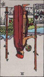 Rider-Waite Tarot Card Deck- 2 of Wands