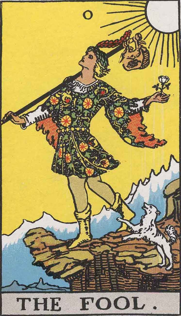 The Fool Upright