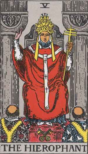 The Hierophant Upright