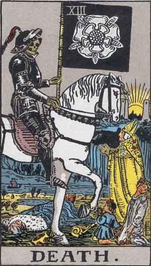 tarot death card