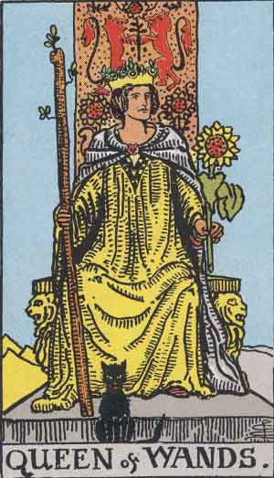 Queen of Wands Upright