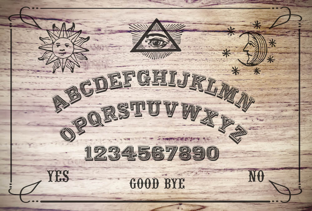 Should you use a Ouija board to contact spirits?