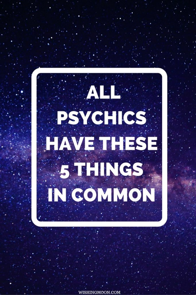 All Psychics Have These 5 Things In Common