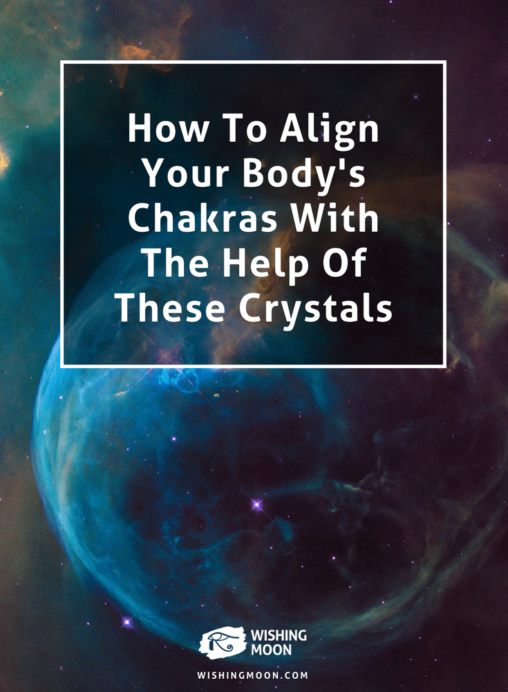 How To Align Your Body's Chakras With The Help Of These Crystals