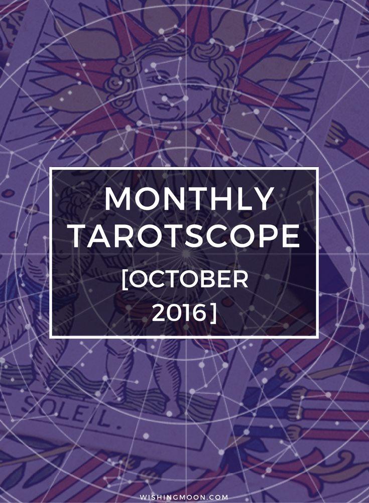 Monthly Tarotscopes - October