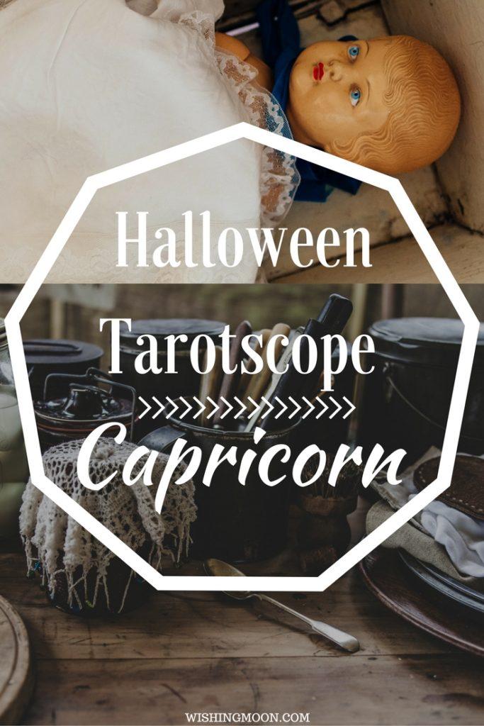 Capricorn Halloween Tarotscope