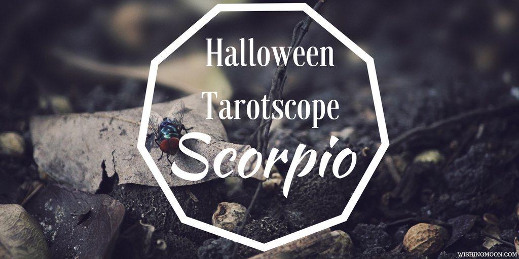 Halloween Tarotscope Scorpio