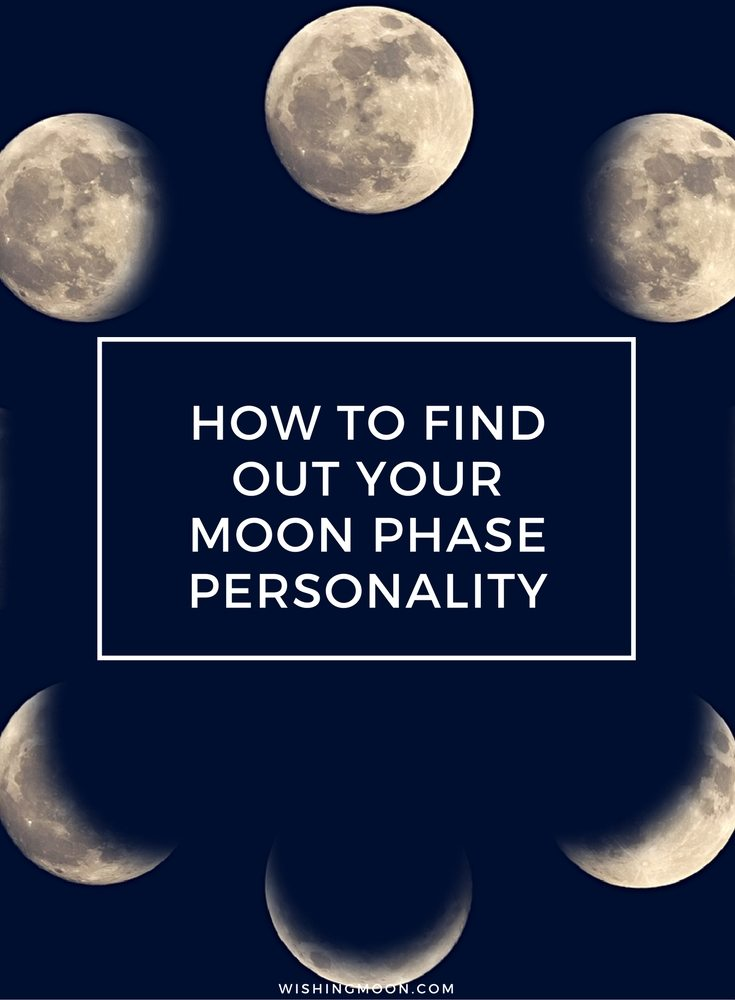 How To Find Out Your Moon Phase Personality