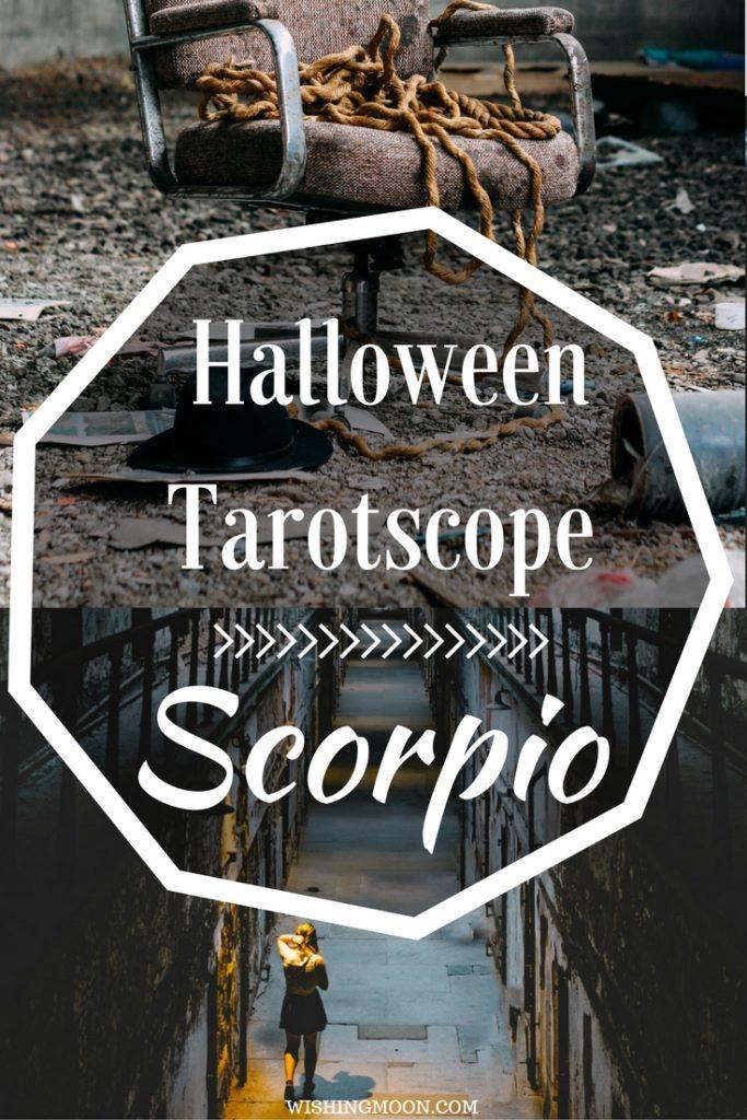 Scorpio Halloween Tarotscope