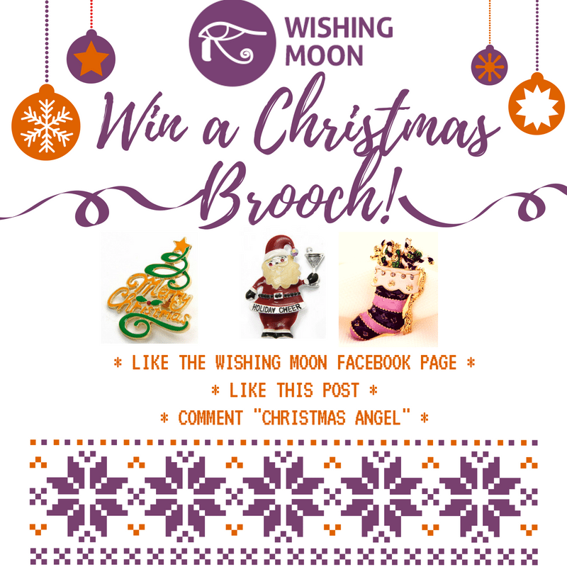 Win a Festive Brooch This Christmas!