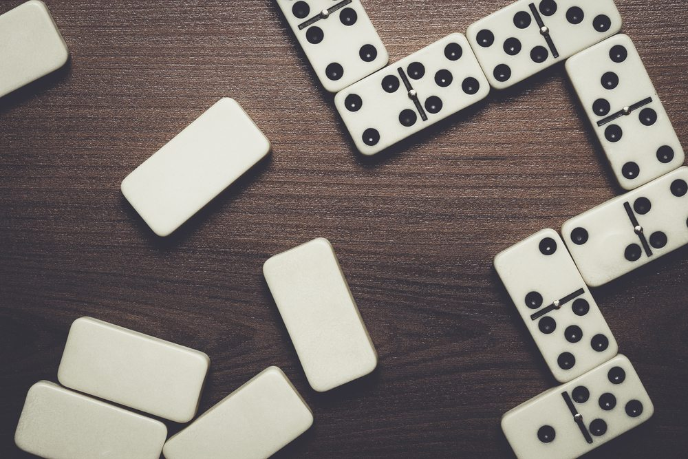 Can dominoes help to tell your future?