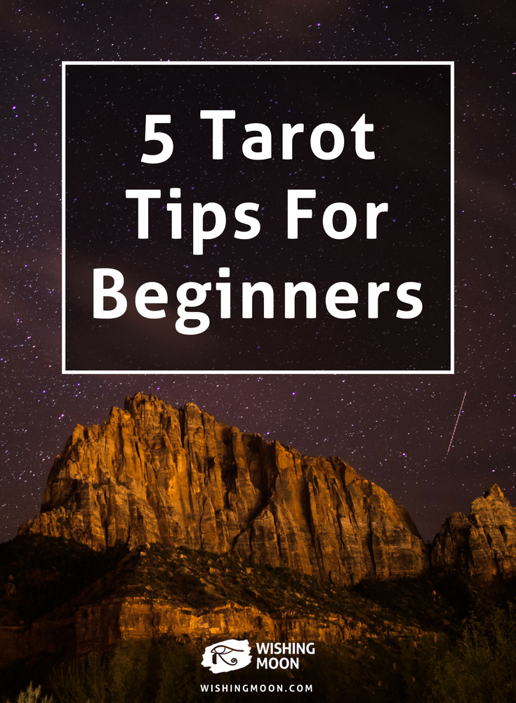 5 Tarot Tips For Beginners