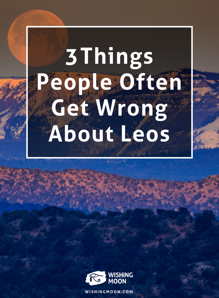 3 Things People Often Get Wrong About Leos