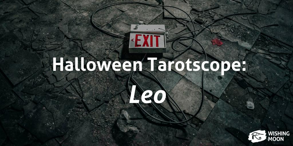 Halloween Tarotscope Leo 2017