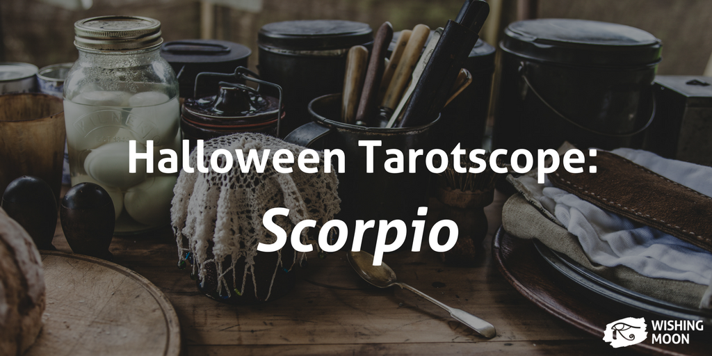 Halloween Tarotscope Scorpio 2017